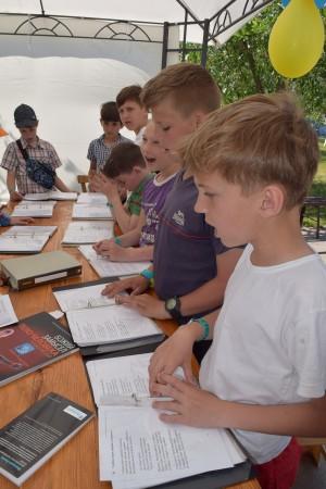 Дневной детский лагерь, июнь 2017